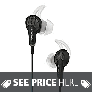 Bose QuietComfort 20 Acoustic Noise Cancelling Headphones, Samsung and Android Devices