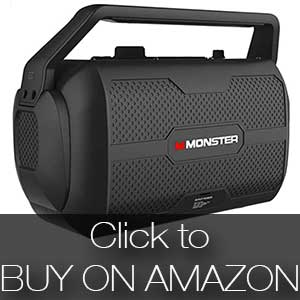 Monster Nomad Portable Bluetooth speaker with FM radio